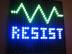 resist in LED