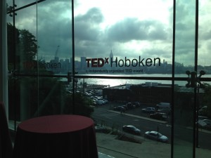 TedxHoboken window