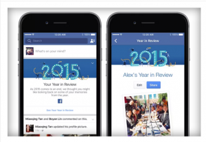 Facebook Your Year in Review Verve