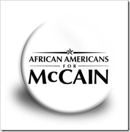 african americans for mccain inauthentic